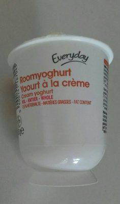 Yaourt à la crème - Product - fr