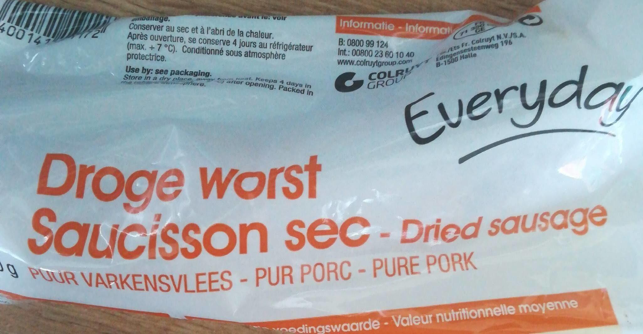 Saucisson sec - 产品 - fr