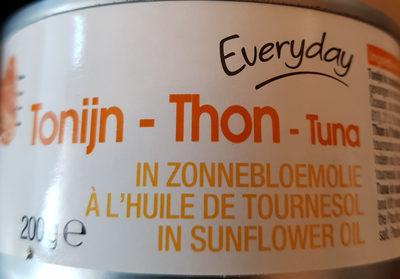 THON à l'huile de tournesol - Product