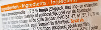 Thon à l'huile de Tournesol - Ingrediënten - nl