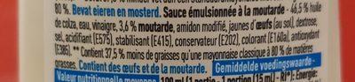 Mayo light - Ingrediënten - fr
