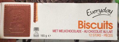 Biscuits chocolat au lait - Product