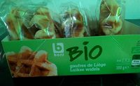 Gaufres de Liège Bio - Product - fr
