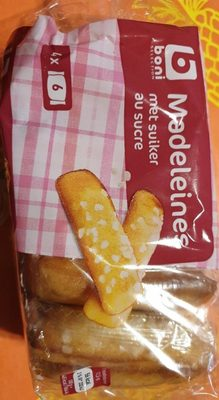 Madeleines au sucre - Product