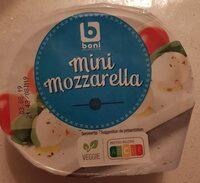 Mini mozzarella - Product