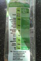 Saucisson sec - 营养成分 - fr