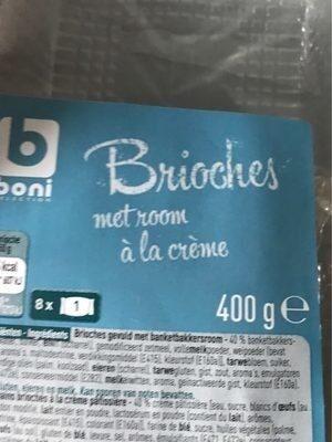 Brioche à la crème - Product - fr