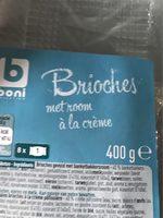Brioche à la crème - Produit - fr