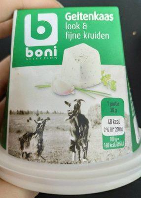 Fromage de chèvre ail et fines herbes - Product - fr