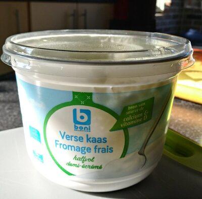 Fromage frais demi écrémé - Product - fr