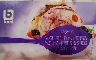 Crème glacée yaourt - fruits des bois - Product