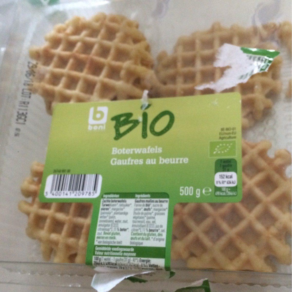 Gaufres au beurre - Bio - Product