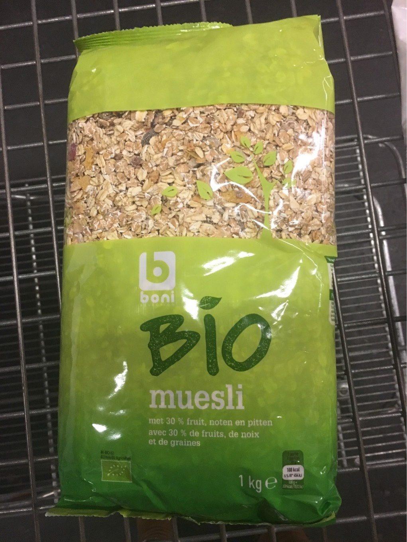 Bio muesli - Product - fr