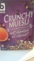 Crunchy Muesli au Chocolat - Product - fr