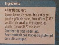 Nicaragua lait - Ingredients