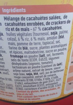 Salsa Mix - Ingredients - fr