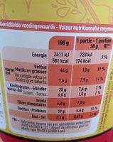 Salsa Mix - Nutrition facts - fr