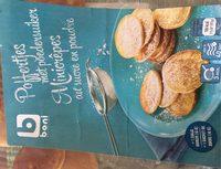 Minicrepes au sucre en poudre - Product