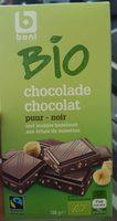 Bio chocolat Noir aux éclats de noisettes - Product - fr