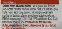Salade de Quinoa - Ingrédients - fr