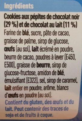 Cookies aux pépites de chocolat - Ingrediënten - fr