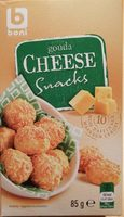Gouda cheese snacks - Product