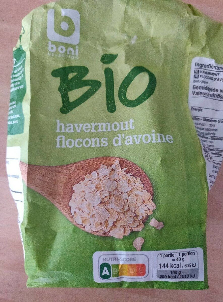 Flocons d'avoine bio - Product - fr