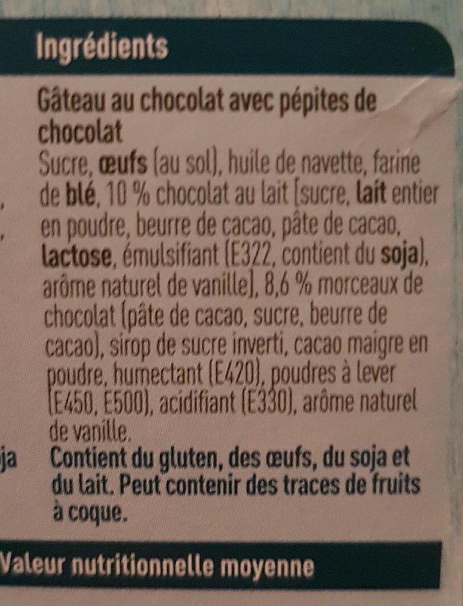 Brownie - Ingrédients - fr