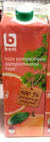 Jus de Pamplemousse rose Colruyt - Product - fr