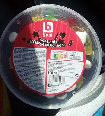Snoepmix - Voedingswaarden