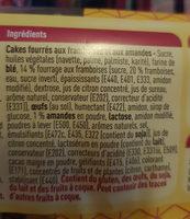 Carré framboise - Ingrediënten