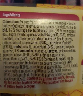 Carré framboise - Ingrédients - fr