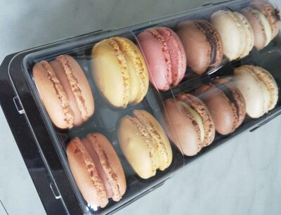 Assortiment macarons 12 pièces - Product