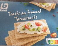 Toasts au froment - Product - fr