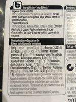 Pistaches - Ingrediënten