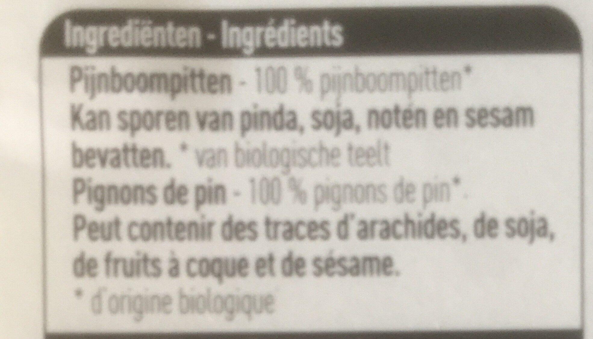 Pignons de pin - Ingrediënten - fr