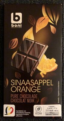 Orange chocolat noir - Product