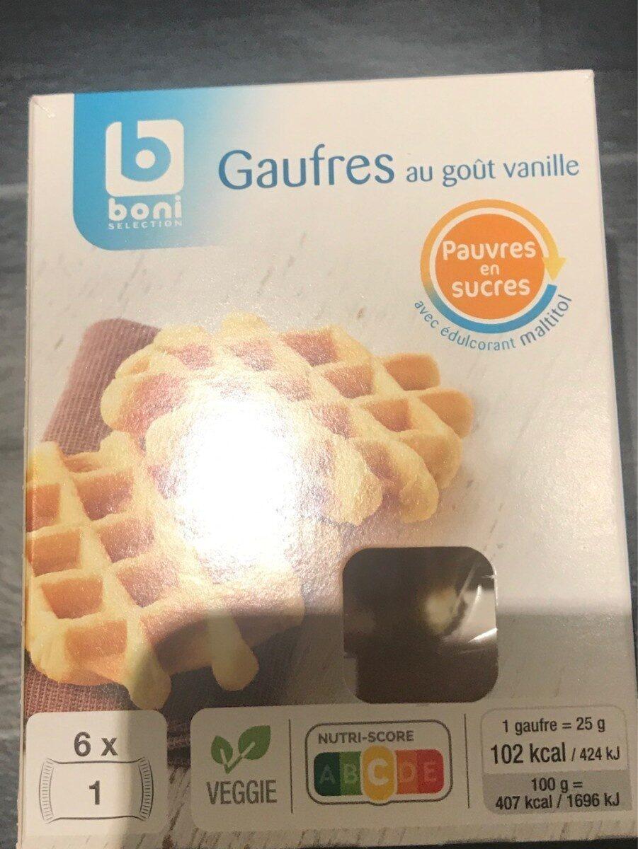 Gaufres au gout vanille - Product