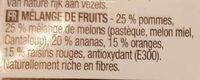 Salade de fruits de saison - Ingrédients