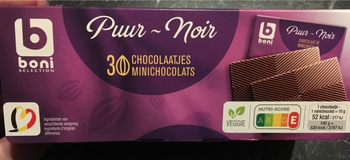 Chocolat puur-noir - Product
