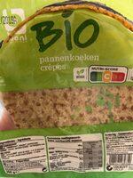 Crêpes Bio - Product