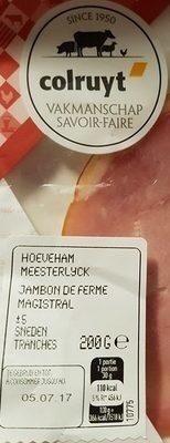 Jambon de ferme magistral - Product - fr
