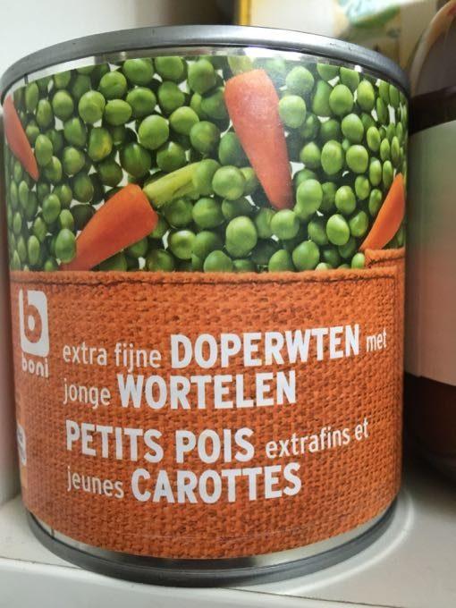 Petits Pois Extrafins Et Jeunes Carottes - Produit - fr