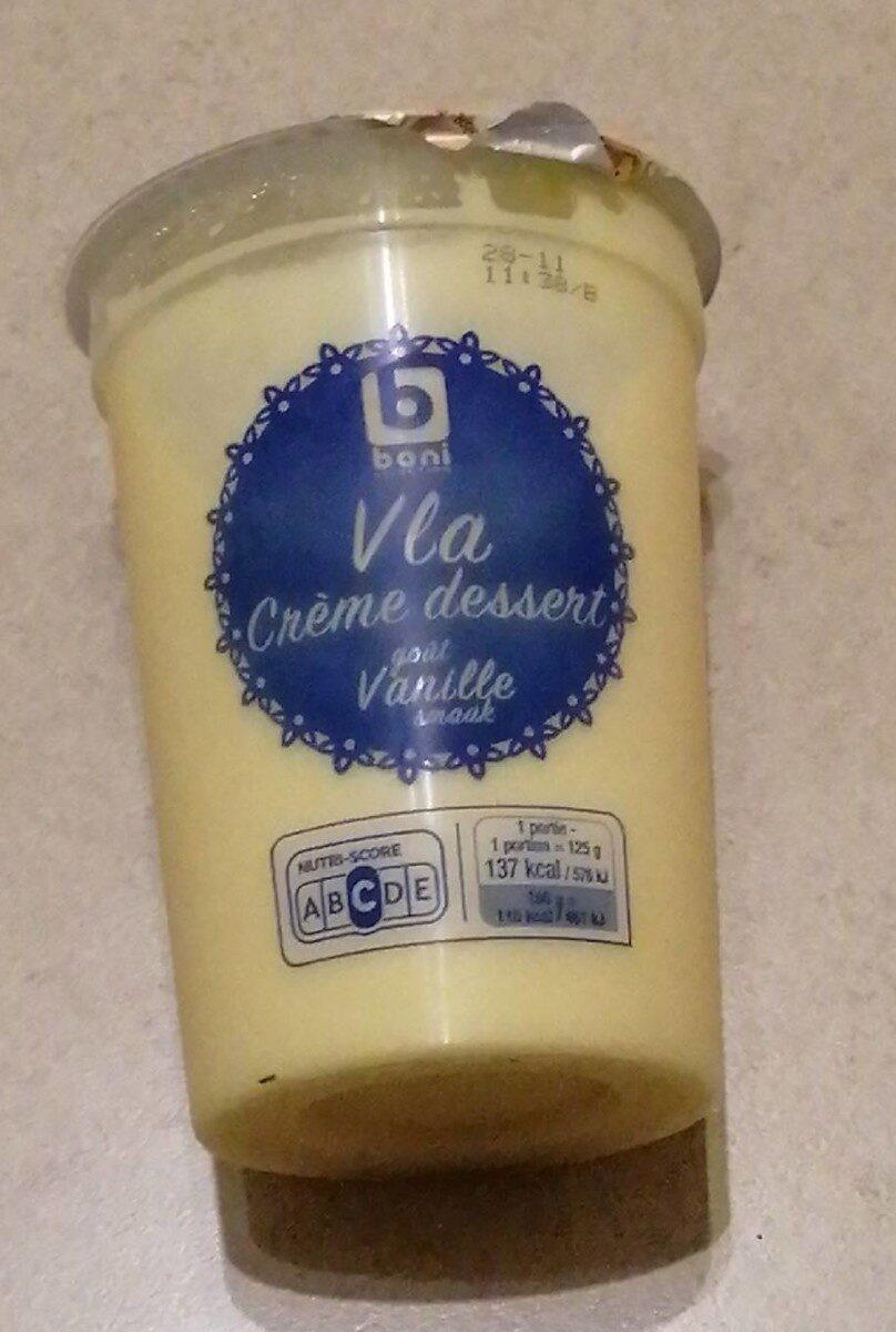 Crème dessert vanille - Product