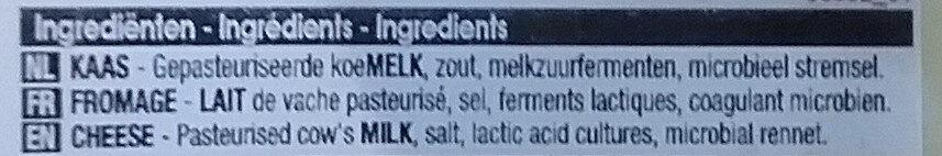 Gouda Jeune Everyday - Ingredients - fr