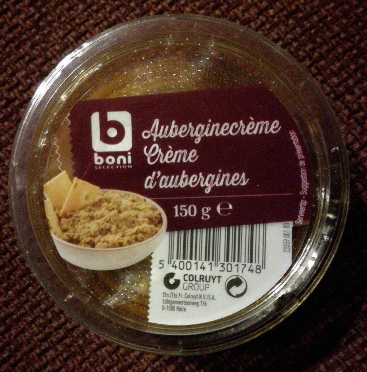 Crème d'Aubergines - Product - fr