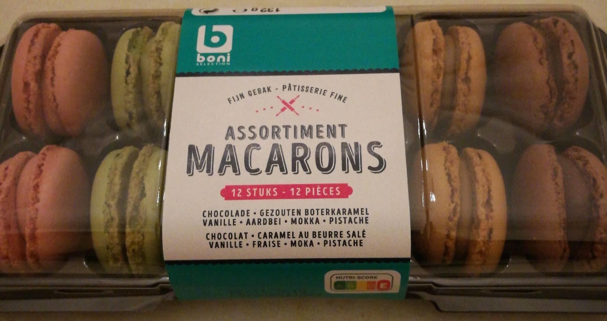 Assortiment de macarons - Product - fr