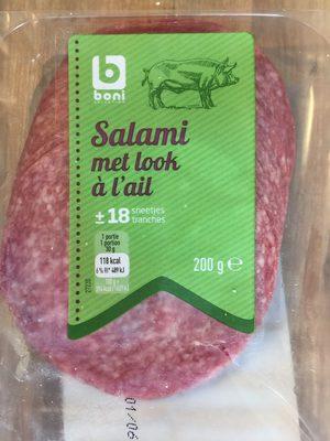 Salami à l'ail - Product - fr