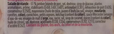 Boni Salade de viande - Ingrediënten