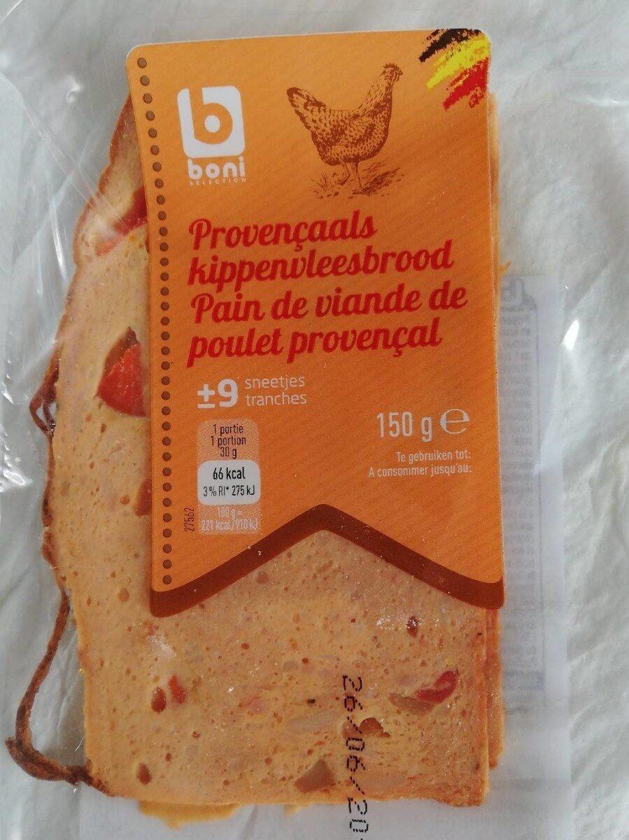 Pain de viande de poulet provençal - Product